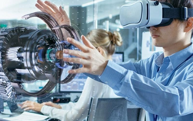 Imagen decorartiva para la entrada: Realidad Aumentada, Realidad Virtual y su futuro como herramienta de capacitación